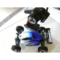 Carrinho Controle Remoto Rc Car 1/18 2.4gh 4wd Off-road Bug