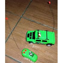 Carrinho De Controle Remoto Ben 10 - Cód Br335