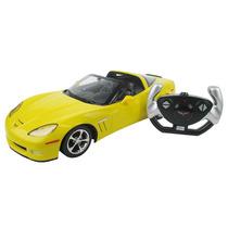 Carrinho De Controle Remoto Corvette C6 Gs Amarelo