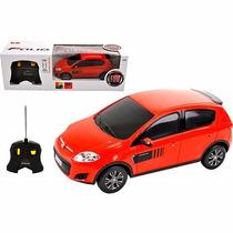 Carro - Controle Remoto - Fiat Palio Vermelho - 1:18 - Cks