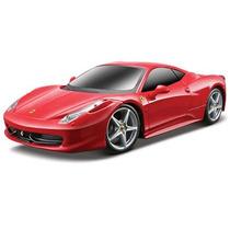 Ferrari 458 Italia Controle Remoto Maisto Vermelha 1:24