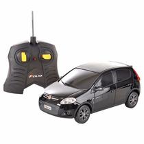 Carro - Controle Remoto - Fiat Palio Preto - 1:18 - Cks