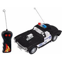 Carro Controle Remoto Sem Fio Super Polícia - Dm Toys