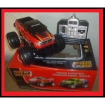 Carrinho Controle Remoto Vermelho Carro Camionete 4x4 Cross