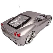 Ferrari Controle Remoto Acende Farol E Led Nas Rodas