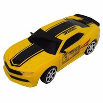 Carrinho Camaro Amarelo Com Controle Remoto