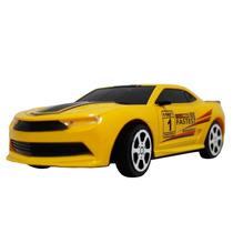 Carrinho Carro Controle Remoto Camaro Amarelo R/c