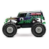 Carro Traxxas Monster Jam Grave Digger 1/16 Rtr 7202a