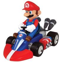 Carrinho C/ Rádio Controle Remoto Super Mario Kart Mini