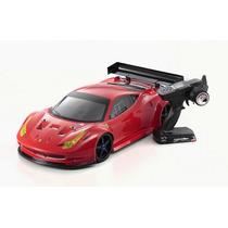 Kyosho Inferno Gt2 Ve Race Spec Ferrari 458 Italia 1/8 2.4gh