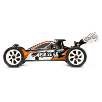 Carro Hpi Buggy Pulse 4.6 Nitro 1/8 2.4ghz 107020 Combustao