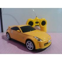 Carrinho De Controle Remoto Nissan 350z Escala 1/24