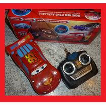 Carrinho Controle Remoto Carro Relâmpago Mcqueen Carros 2 Ve