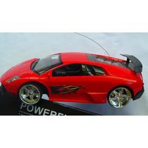 Carrinho De Controle Remoto Ferrari Com Neom Nas Rodas Entre