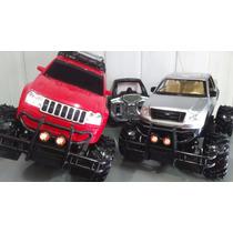 02 Carrinhos Controle Remoto Jeep Cherokee + Caminhonete