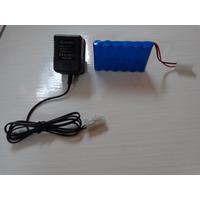 Kit Bateria E Carregador 7,2v 500mah Carrinho Tufâo