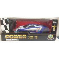Carrinho Power Xr-s - Carro R/c Azul - Dtc