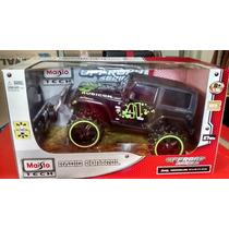 Carro Controle Remoto Jeep Rubicon - Maisto