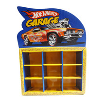Garagem Hot Wheels Box 9 Carrinhos Organizador Brinquedo
