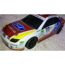 Carrinho De Corrida Controle Remoto Drift 4x4 Automodelo