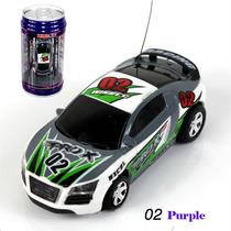 Mini Carro Controle Remoto R C Racing Latinha Decorativa