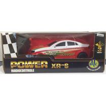 Carrinho Power Xr-s - Carro R/c Vermelho - Dtc