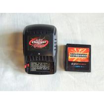 Carregador + Bateria Carrinho Controle Remoto 3,6 V