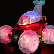 Carrinho De Controle Remoto Maluco Gira 360º Com Luzes Carro