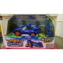 Carrinho Sonic Sega All Stars.
