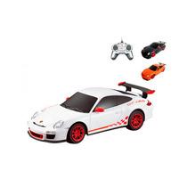 Carrinho Controle Remoto Porsche Gt3 Rs Funções 1/24