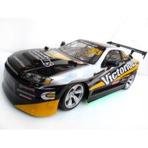 Drift 4x4 Carrinho Carro Controle Remoto 34cm Com 2-baterias