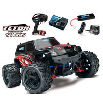 Carro Traxxas 1/18 Latrax Teton 2.4ghz Rtr Red Trax 76054