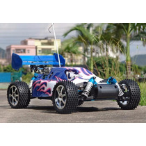 Buggy Rc Sworfisch Combustão Controle2.4 Ghz 4x4 Kit Partida