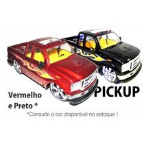 Caminhonete Pickup Carrinho Controle Remoto Recarregável