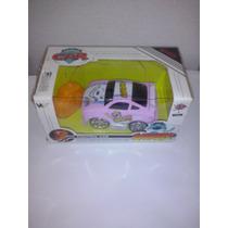 Carrinho Controle Remoto Rosa Mini Car