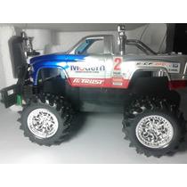Carrinho Controle Remoto Top Speed Pickup 27cm Azul Ecoop