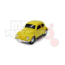 Carro De Controle Remoto Volkswagen Fusca Amarelo 1:24