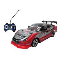 Carrinho Controle Remoto Drift 4x4 Automodelo 1/14 Vermelho