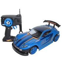 Carro De Controle Remoto Candide Hot Wheels Rush - Azul