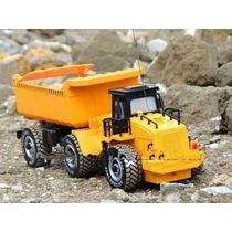 Caminhão Caçamba De Areia 1/24 Construção Controle Remoto Rc
