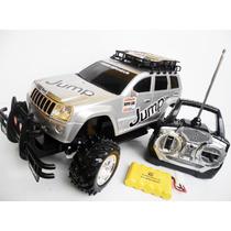 Jeep Raly Carrinho Controle Remoto Bateria Recarregável