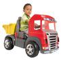 Mini Veículo Truck Vermelho Pedal - Magic Toys