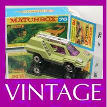 1975 Matchbox Lesney Cosmobile + Box Custom Carrinho 1/64