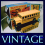 1985 Matchbox Lesney School Bus 1/64 Mini Carro Miniatura
