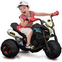 Moto Eletrica A Bateria Batmoto Batman El 6v Bandeirante