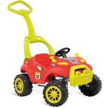 Carrinho Smart Passeio Brinquedo Infantil Menino Bandeirante