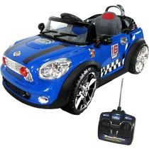 Carro Elétrico Infantil Mini Cooper Controle Remoto Mp3