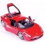 Ferrari 458 Itália /super Carros Inesquecíveis/miniatura