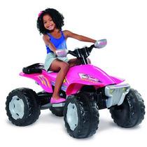 Quadriciclo Eletrico - Fashion Rosa 12v - Bandeirante
