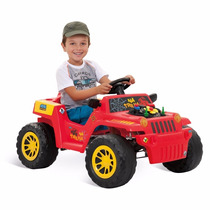 Carro A Pedal Bandeirante Jipe Adventure Carrinho Infantil